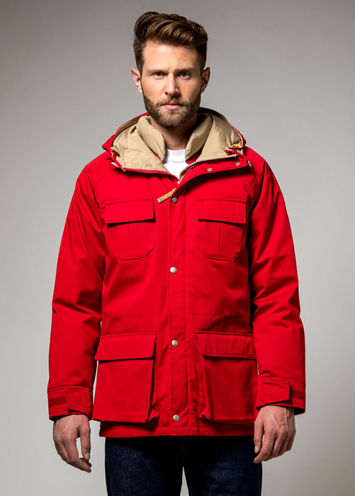 HOLUBAR BLOUSON  DEER  HUNTER  LI77  ROUGE