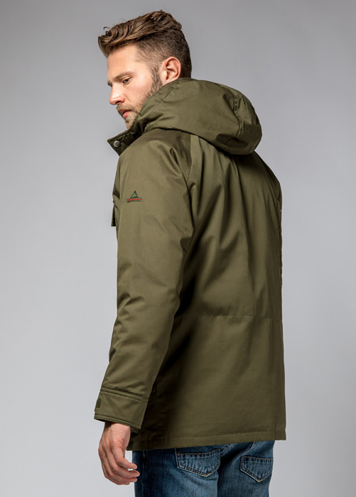 HOLUBAR: DEER HUNTER JACKET LI77 COLOR HUNTER GREEN