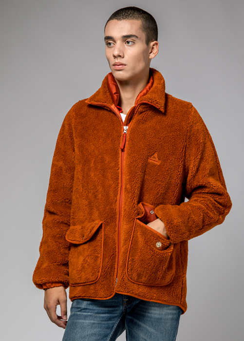 HOLUBAR: FARM JACKET  WP34 COLOR DARK ORANGE