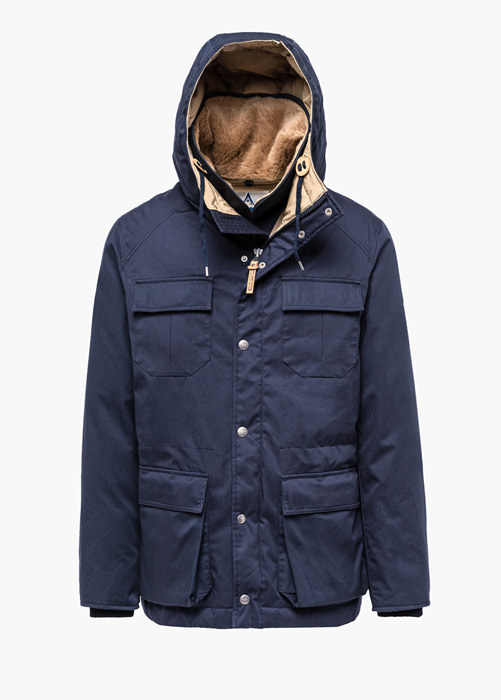 HOLUBAR: NORTH HUNTER LI77 JACKET COLOR BLUE