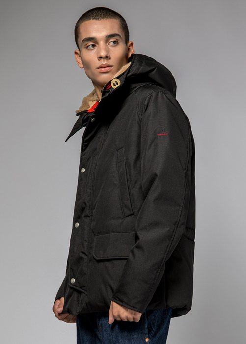 HOLUBAR: SHORT BOULDER CM20 JACKET COLOR BLACK