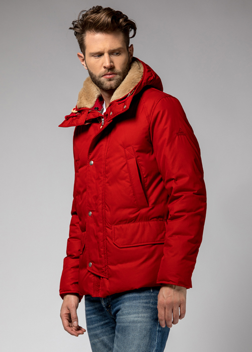 HOLUBAR: SHORT BOULDER HA12  JACKET COLOR RED