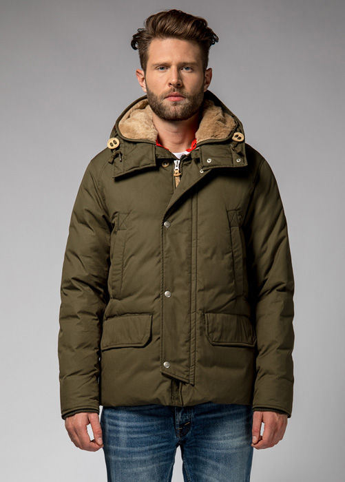 HOLUBAR: SHORT BOULDER HA12  JACKET COLOR MILITARY GREEN