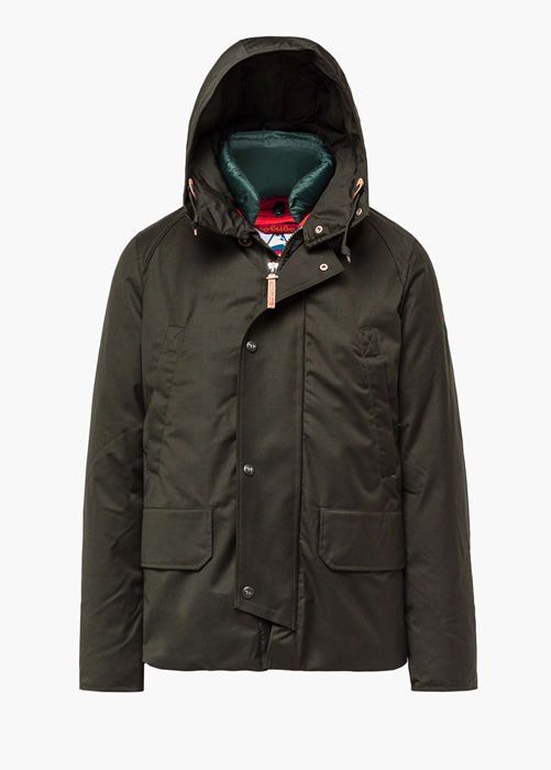 HOLUBAR BOULDER PW90 GREEN SHORT JACKET