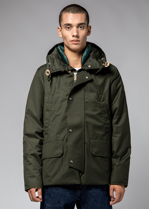 HOLUBAR: SHORT BOULDER PW90 JACKET COLOR GREEN