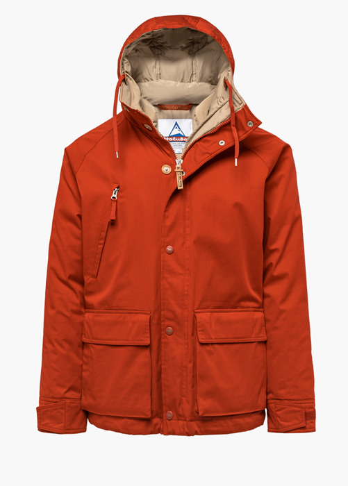 HOLUBAR: SHORT HUNTER LI77 JACKET COLOR ORANGE