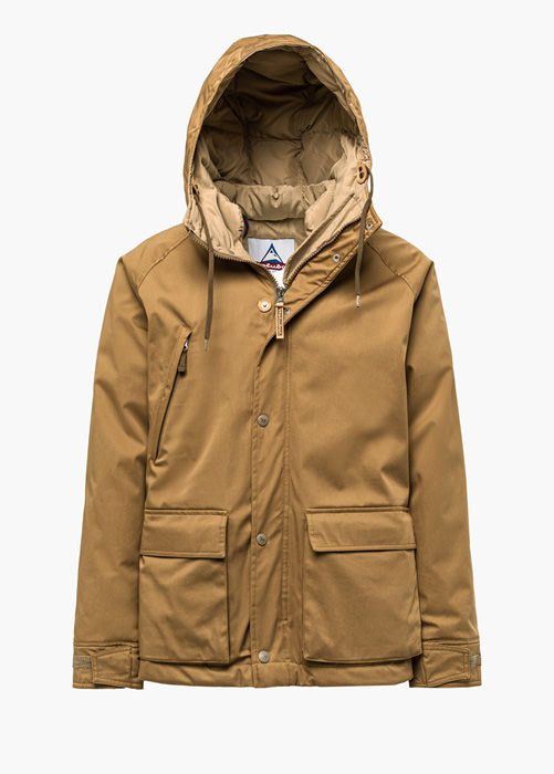 SHORT HUNTER LI77 JACKET COLOR BEIGE
