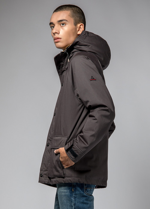 HOLUBAR: BLOUSON SHORT HUNTER LI77 GRIS