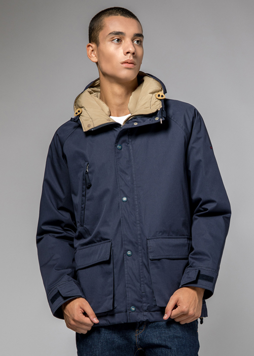 HOLUBAR: BLOUSON SHORT HUNTER LI77 NEW BLEU