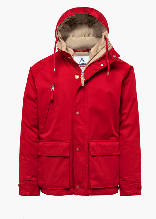 HOLUBAR: BLOUSON SHORT HUNTER LI77 ROUGE