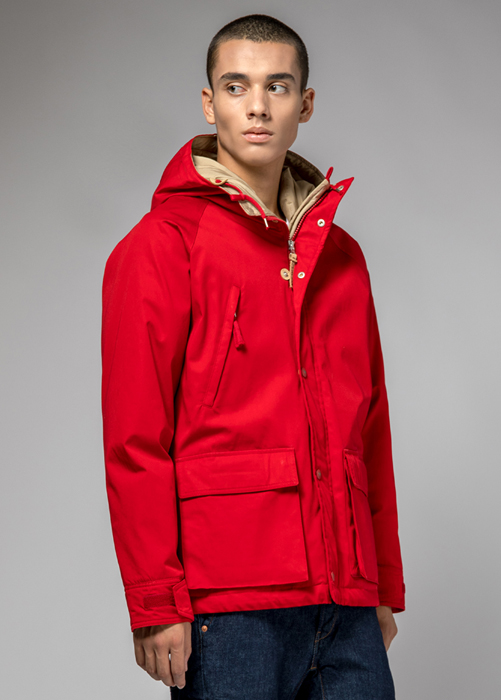 HOLUBAR: BLOUSON SHORT HUNTER LI77ROUGE