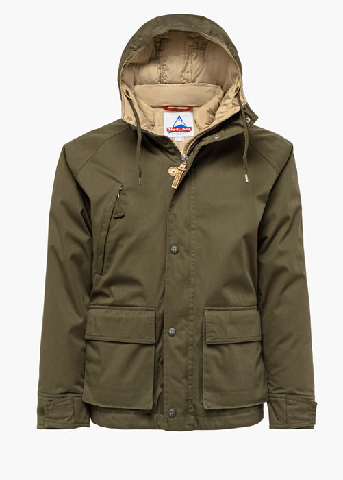 HOLUBAR: SHORT HUNTER LI77 JACKET COLOR GREEN
