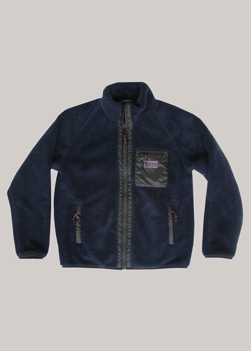 HOLUBAR: TEDDY BEAR HOLUBAR IN THE BOX JACKET COLOR BLUE