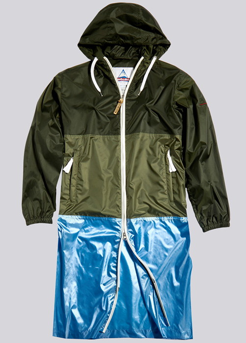 HOLUBAR PARKA JACKET MORGAN BU15 GREEN