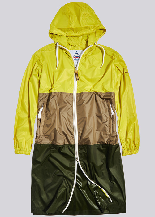 HOLUBAR PARKA JACKET MORGAN BU15 YELLOW