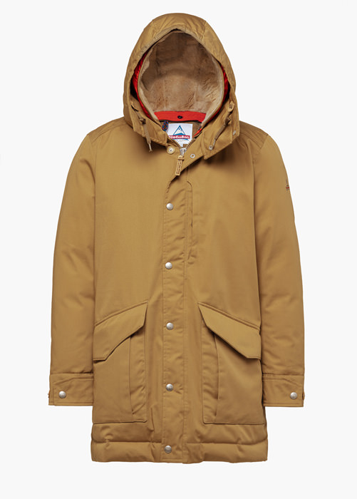 HOLUBAR ALCAN LI77 PARKA JACKET COLOR ORANGE