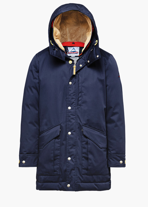 HOLUBAR ALCAN LI77 PARKA JACKET COLOR BLUE