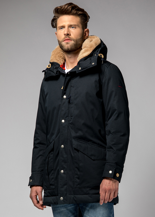 HOLUBAR ALCAN LI77 PARKA JACKET COLOR DARK BLUE
