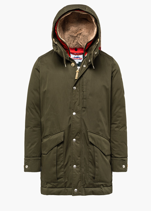 HOLUBAR ALCAN LI77 PARKA JACKET COLOR GREEN