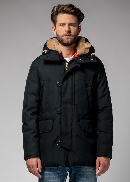 HOLUBAR BOULDER CM20 PARKA JACKET COLOR DARK BLUE