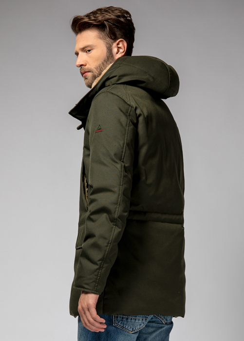 HOLUBAR BOULDER CM20 PARKA JACKET COLOR GREEN