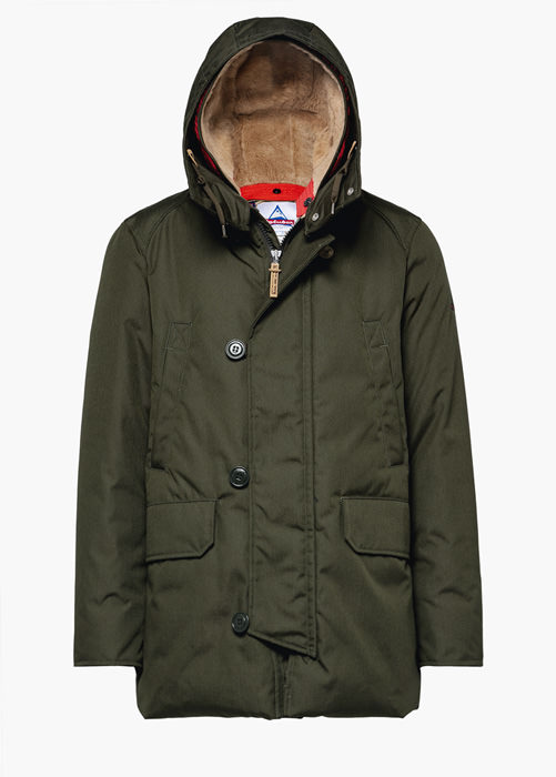 HOLUBAR: BOULDER CORDURA CM20 PARKA JACKET COLOR GREEN