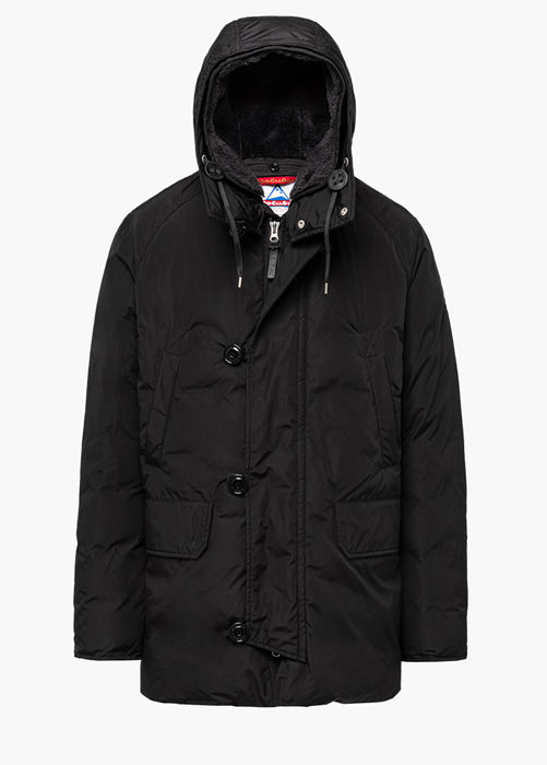 HOLUBAR: BOULDER LATITE NP23 PARKA JACKET COLOR BLACK
