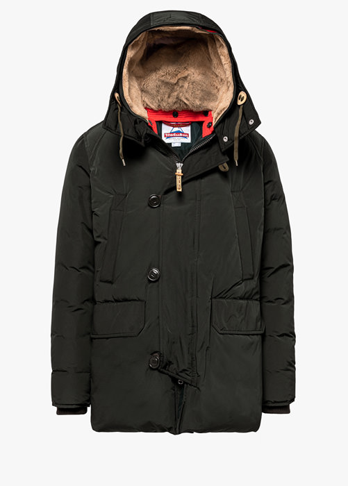 HOLUBAR BOULDER LATITE NP23 PARKA JACKET COLOR BLACK
