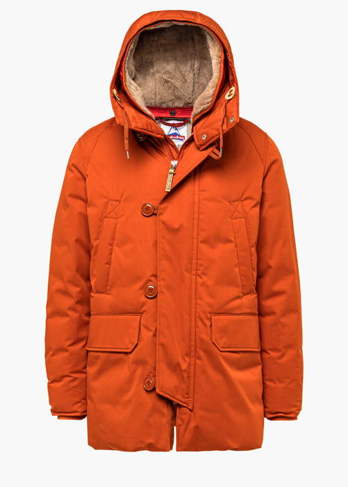 HOLUBAR: BOULDER LI77 PARKA JACKET COLOR ORANGE