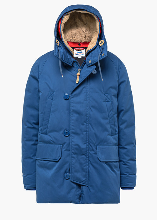 HOLUBAR: BOULDER LI77 PARKA JACKET COLOR LIGHT BLUE
