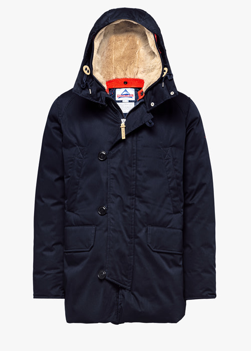 HOLUBAR BOULDER LI77 PARKA JACKET COLOR BLUE