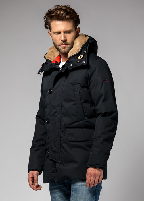 HOLUBAR: BOULDER LI77 PARKA JACKET COLOR DARK BLUE