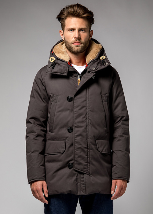 HOLUBAR: BOULDER LI77 PARKA JACKET COLOR GRAY