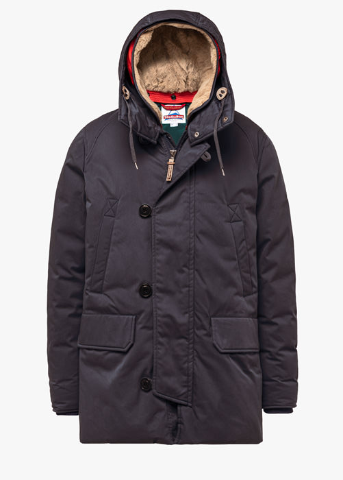 HOLUBAR BOULDER LI77 PARKA JACKET COLOR GRAY
