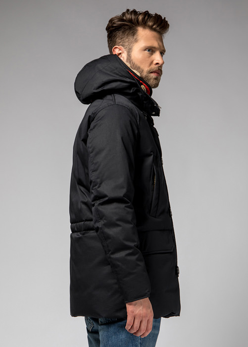 HOLUBAR: BOULDER LI77 PARKA JACKET COLOR BLACK