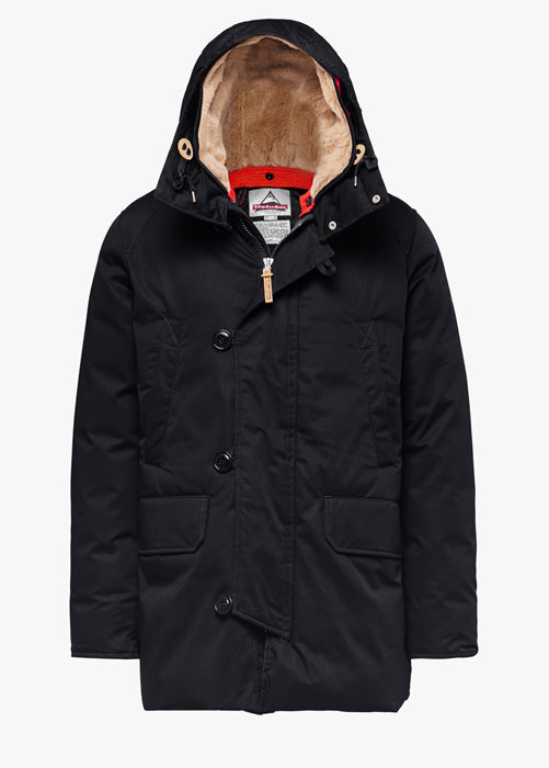 HOLUBAR BOULDER LI77 PARKA JACKET COLOR BLACK