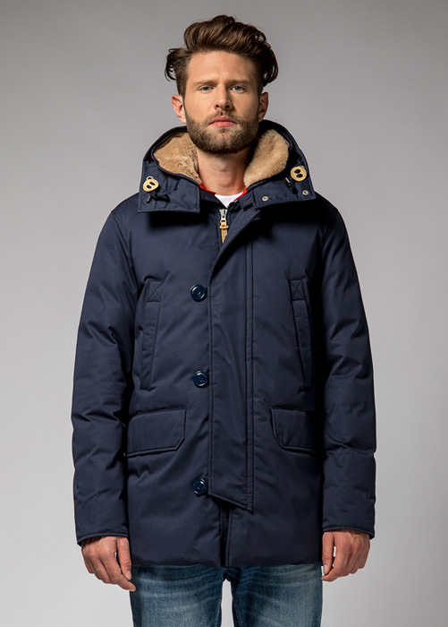 HOLUBAR BOULDER LI77 PARKA JACKET COLOR NEW BLUE