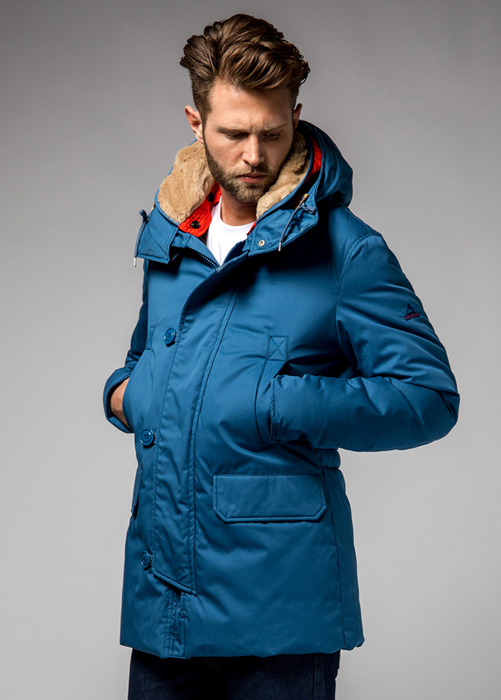 HOLUBAR BOULDER LI77 PARKA JACKET COLOR NEW ROYAL