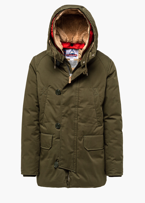 HOLUBAR BOULDER LI77 PARKA JACKET COLOR GREEN