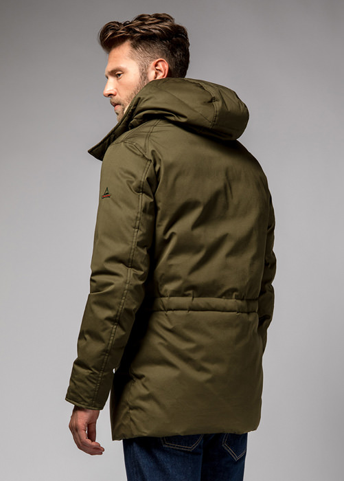 HOLUBAR: BOULDER LI77 PARKA JACKET COLOR MILITARY GREEN