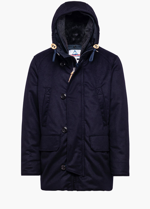 HOLUBAR: BOULDER MIX LO20 PARKA JACKET COLOR BLUE