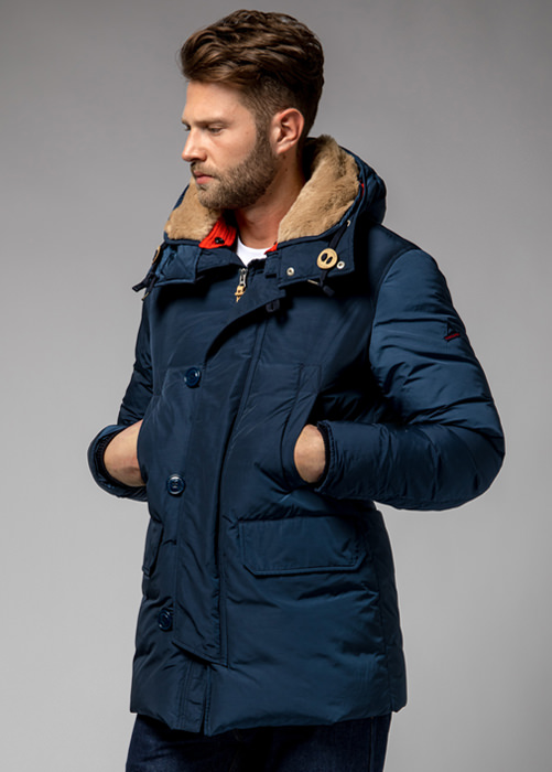 HOLUBAR BOULDER NP23 PARKA JACKET COLOR DARK BLUE
