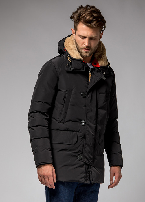 HOLUBAR: BOULDER NP23 PARKA JACKET COLOR BLACK