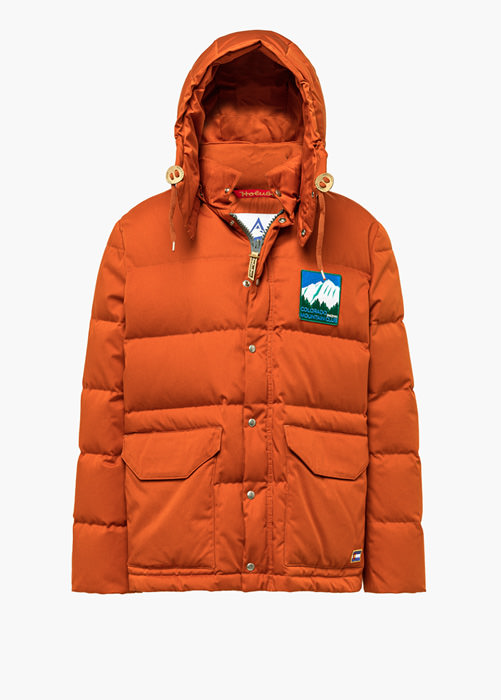 HOLUBAR: COLORADO LI77 ORANGE PARKA JACKET