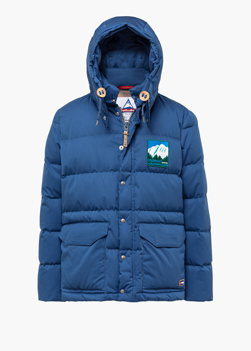 HOLUBAR COLORADO LI77 LIGHT BLUE PARKA JACKET