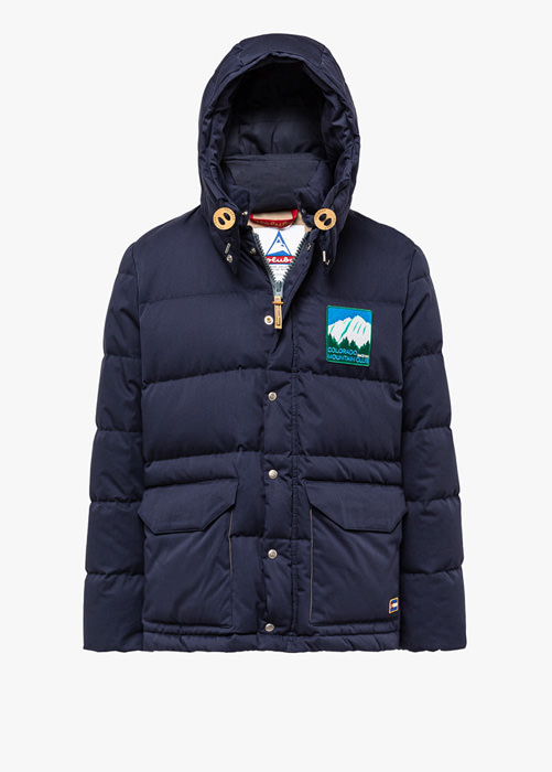 HOLUBAR COLORADO LI77 BLUE PARKA JACKET