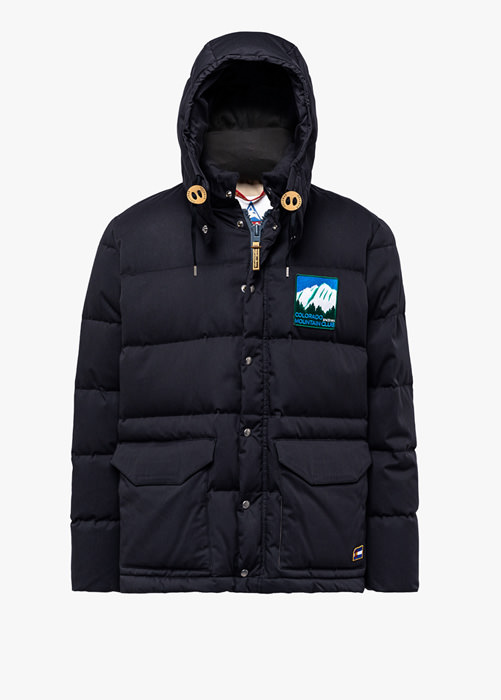 HOLUBAR: COLORADO LI77 BLACK PARKA JACKET