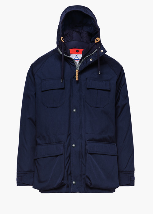 HOLUBAR PARKA JACKET DEER HUNTER CORDURA CM20 PARKA JACKET COLOR BLUE