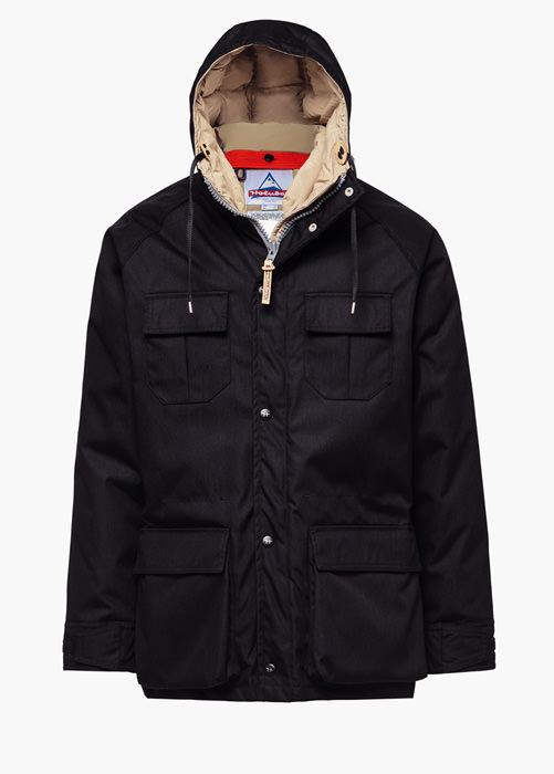 HOLUBAR PARKA JACKET DEER HUNTER CORDURA CM20 PARKA JACKET COLOR BLACK
