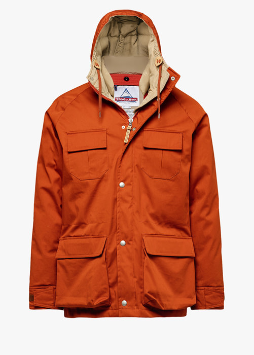 HOLUBAR: DEER HUNTER PARKA LI77 COLOR ORANGE
